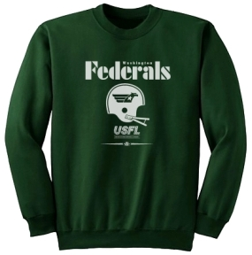 USFL Washington Federals Locker Crew