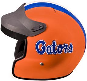 Florida Gators Motorcycle Helmet