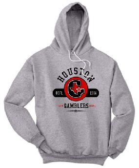Houston Gamblers Circle Hoody