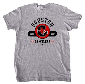 Houston Gamblers Circle Tee
