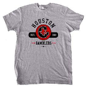 Houston Gamblers USFL Oxford T-Shirt