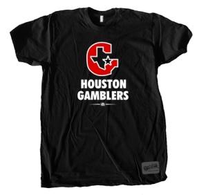 USFL Houston Gamblers Logo Tee