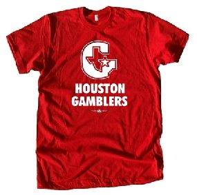 Houston Gamblers USFL Ringer T-Shirt