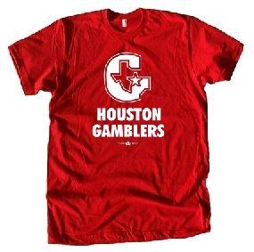 Houston Gamblers USFL Ringer T-Shirt