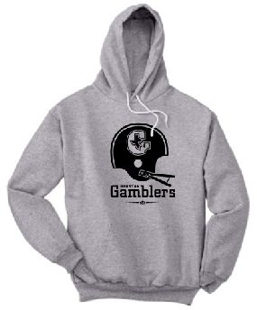 Houston Gamblers Helmet Hoody