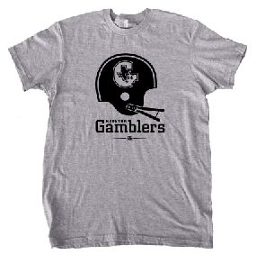 USFL Houston Gamblers Helmet Tee