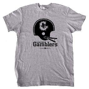 Houston Gamblers Helmet Tee