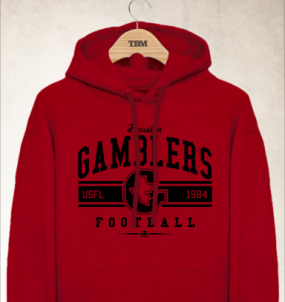 Houston Gamblers Logo Hoody