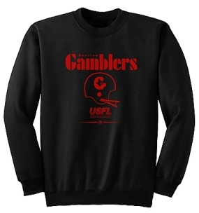 USFL Houston Gamblers Locker Crew
