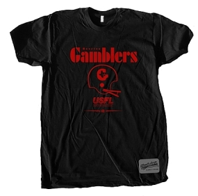 Houston Gamblers Locker Tee