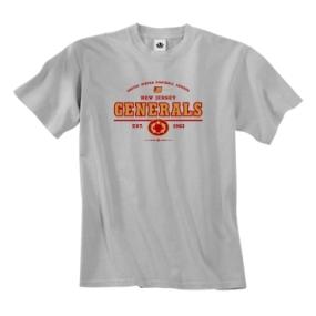 New Jersey Generals USFL Oxford T-Shirt