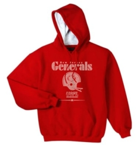 New Jersey Generals USFL Fashion Hoody