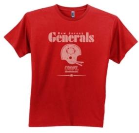 New Jersey Generals USFL Fashion T-Shirt
