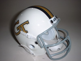 1969 Georgia Tech Yellow Jackets Throwback Mini Helmet