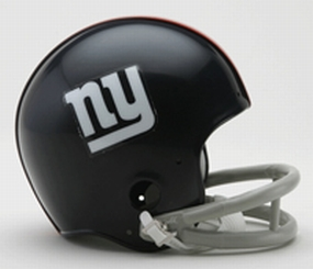 1961-1974 New York Giants Throwback Mini Helmet