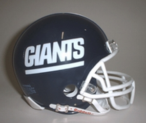 1981-1999 New York Giants Throwback Mini Helmet