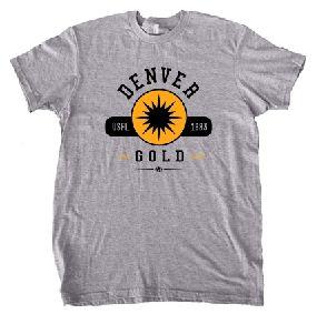 Denver Gold USFL Oxford T-Shirt