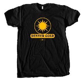 Denver Gold USFL Ringer T-Shirt