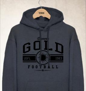 Denver Gold Logo Hoody