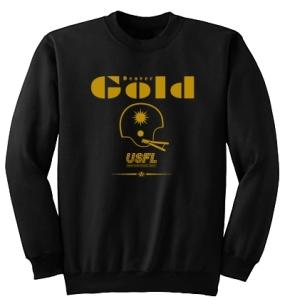 USFL Denver Gold Locker Crew
