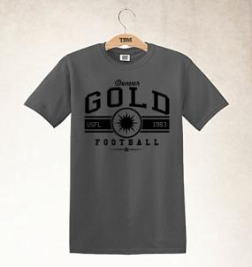 Denver Gold Logo Tee