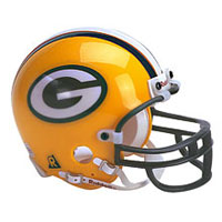 Riddell Green Bay Packers Full Size Replica Helmet
