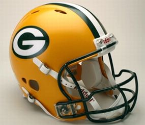 Green Bay Packers Full Size Revolution Helmet