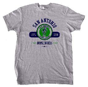 San Antonio Gunslingers Circle Tee