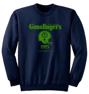USFL San Antonio Gunslingers Locker Crew