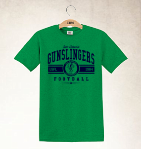 San Antonio Gunslingers Logo Tee