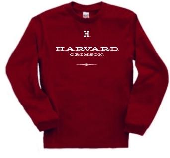 Harvard Crimson Commons Long Sleeve Tee