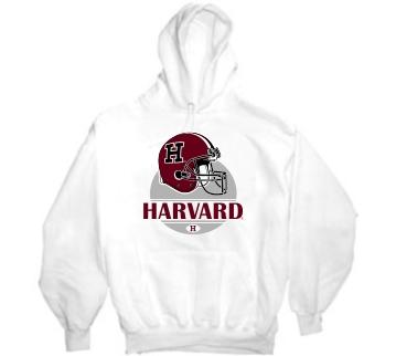 Harvard Crimson Modern Helmet Hoody