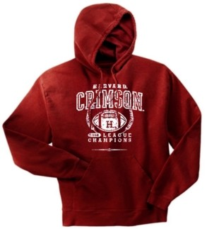Harvard Crimson '68 Football League Champs Hoody