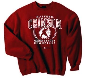 Harvard Crimson '54 Hockey League Champs Crew