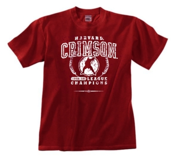 Harvard Crimson '54 Hockey League Champs Tee