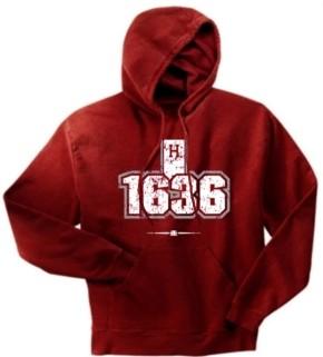 Harvard Crimson 1636 Hoody