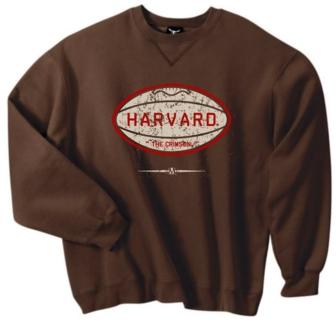 Harvard Crimson Pigskin Crew