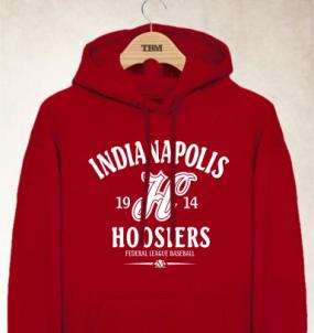 Indianopolis Hoosiers Clubhouse Vintage Hoody