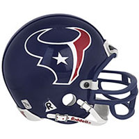 Riddell Houston Texans Full Size Replica Helmet