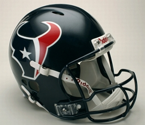 Houston Texans Full Size Revolution Helmet
