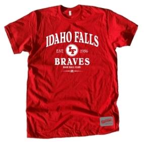 Idaho Falls Braves Clubhouse Vintage T-Shirt