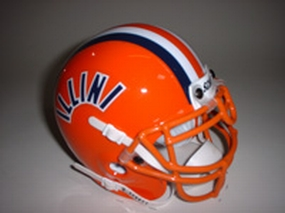 1984 Illinois Fighting Illini Throwback Mini Helmet