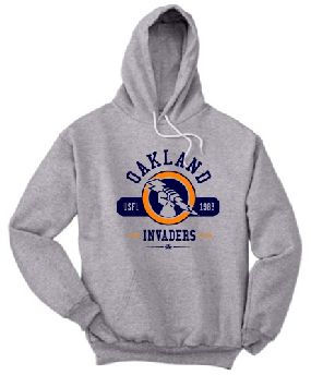 Oakland Invaders Circle Hoody