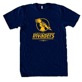 Oakland Invaders USFL Ringer T-Shirt