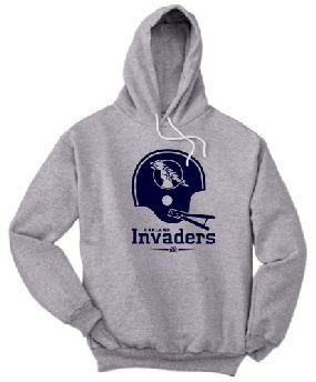 Oakland Invaders Helmet Hoody