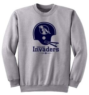 Oakland Invaders Helmet Crew
