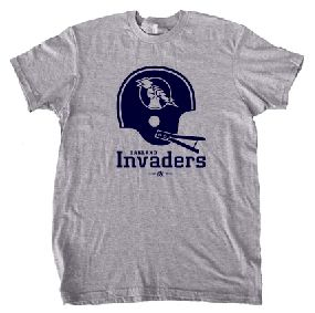 Oakland Invaders Helmet Tee