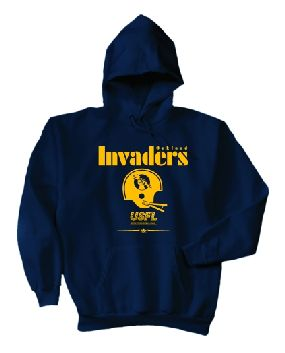 USFL Oakland Invaders Locker Hoody