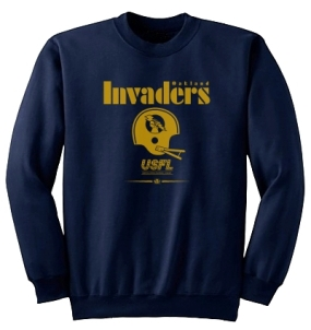 USFL Oakland Invaders Locker Crew