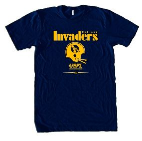 USFL Oakland Invaders Locker Tee